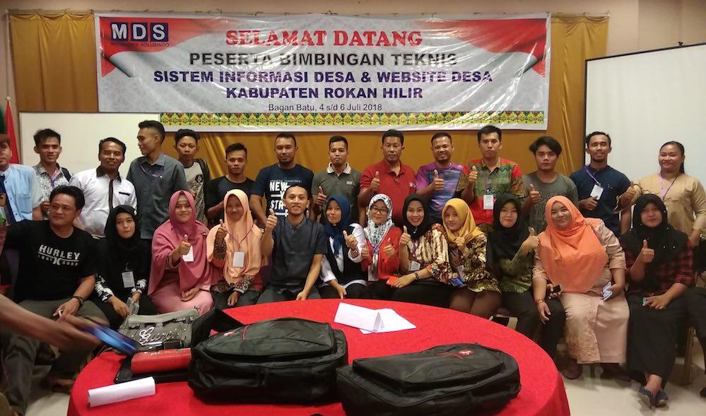 Puskomedia Kembali Melatih 344 Perangkat Desa untuk Mengelola Web Desa dan Panda SID
