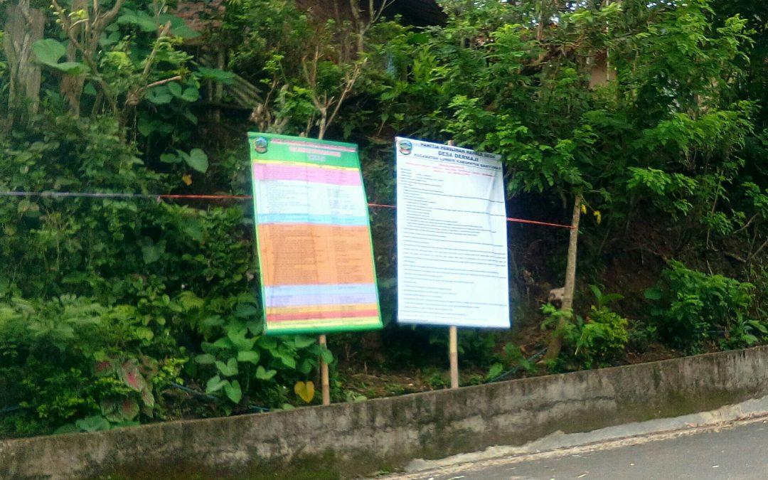 Pendaftaran Bakal Calon Kades Panda Mulai Dibuka 25 Maret 2018